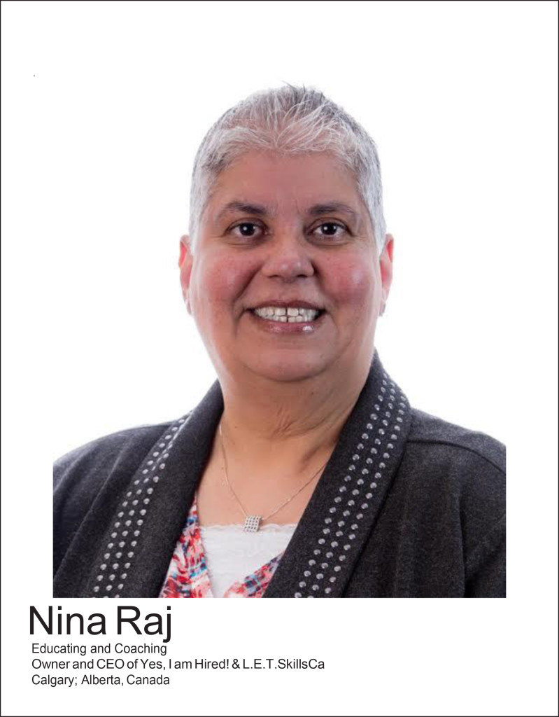 Women of Distinction - Nina Rajwani - Yes I am Hired!